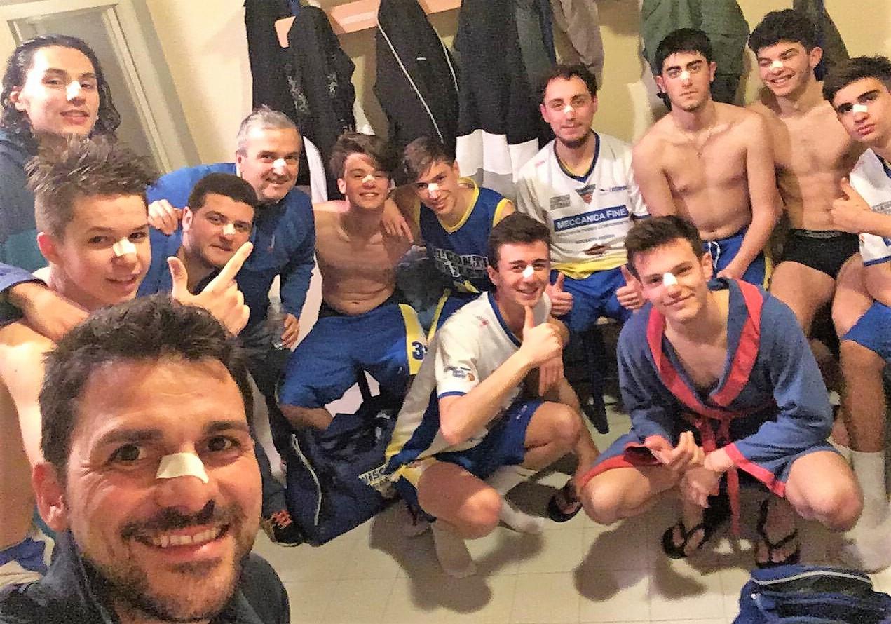 UNDER 18 MASCHILE: CAMPIONI PROVINCIALI!!!